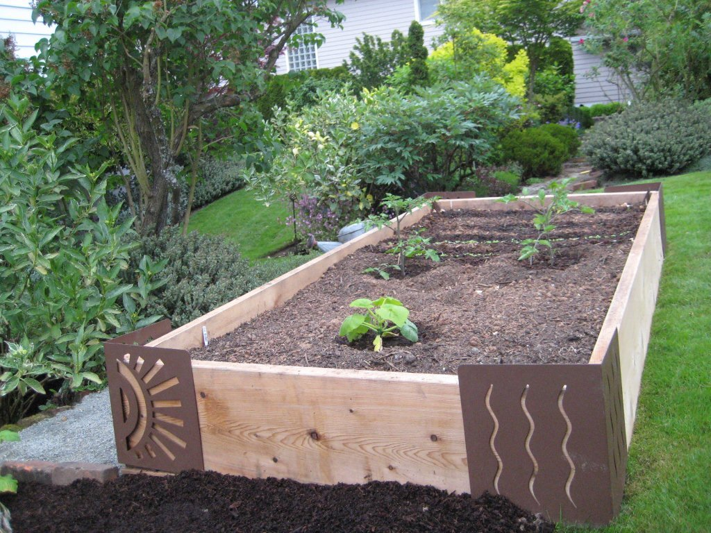 Image of: Raised Flower Boxes