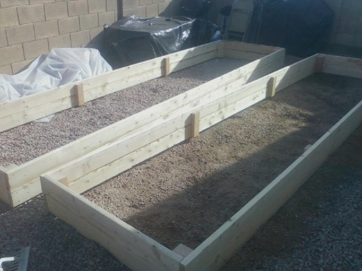 Image of: Raised Garden Beds