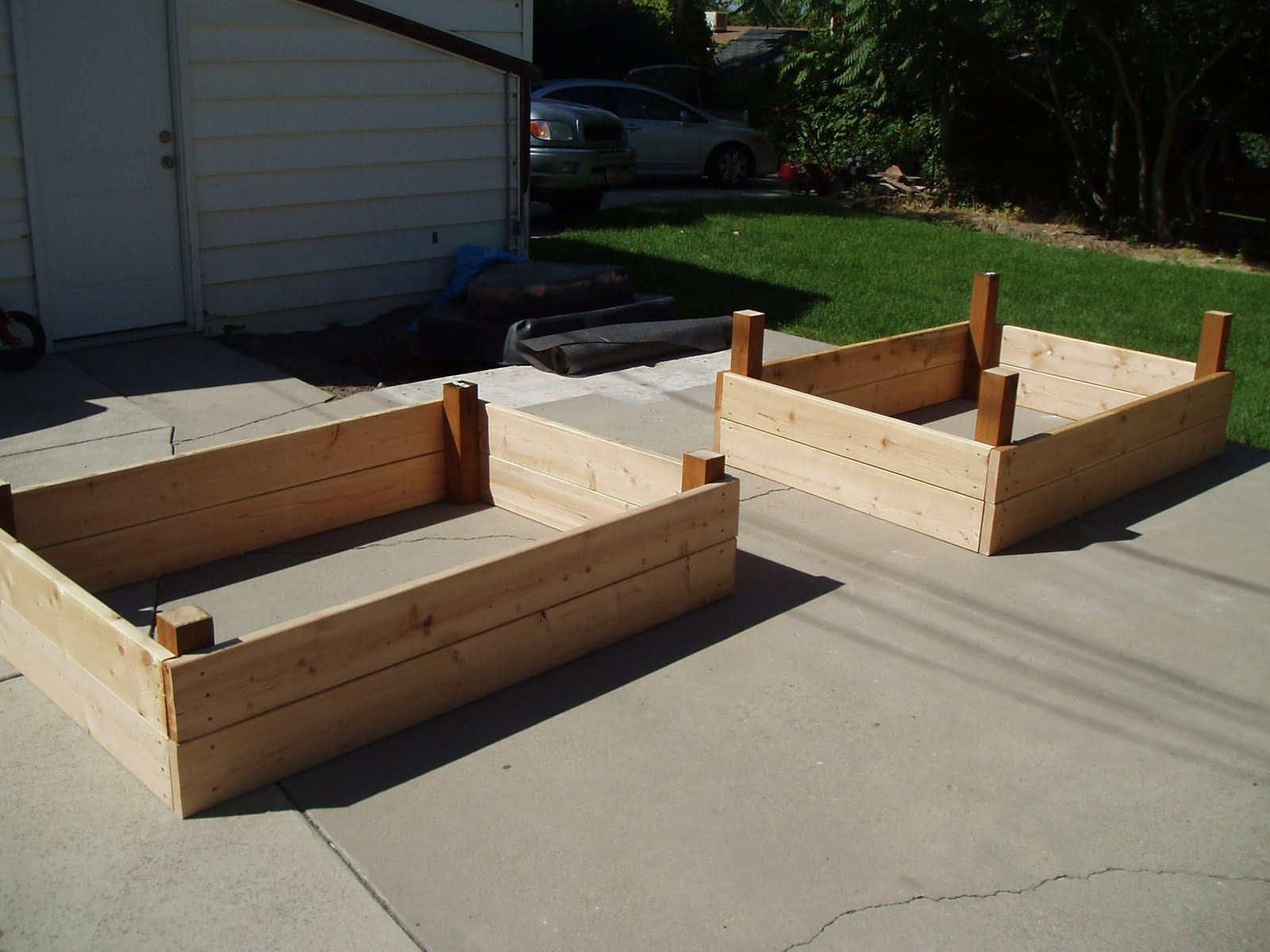 Image of: Raised Planter Boxes Plans