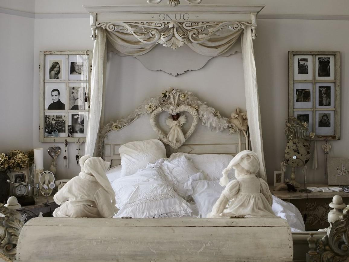 Image of: Shabby Chic Bedroom Blog