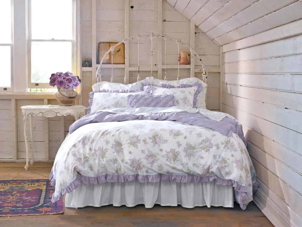 Image of: Charm Shabby Chic Bedroom Decorating Ideas