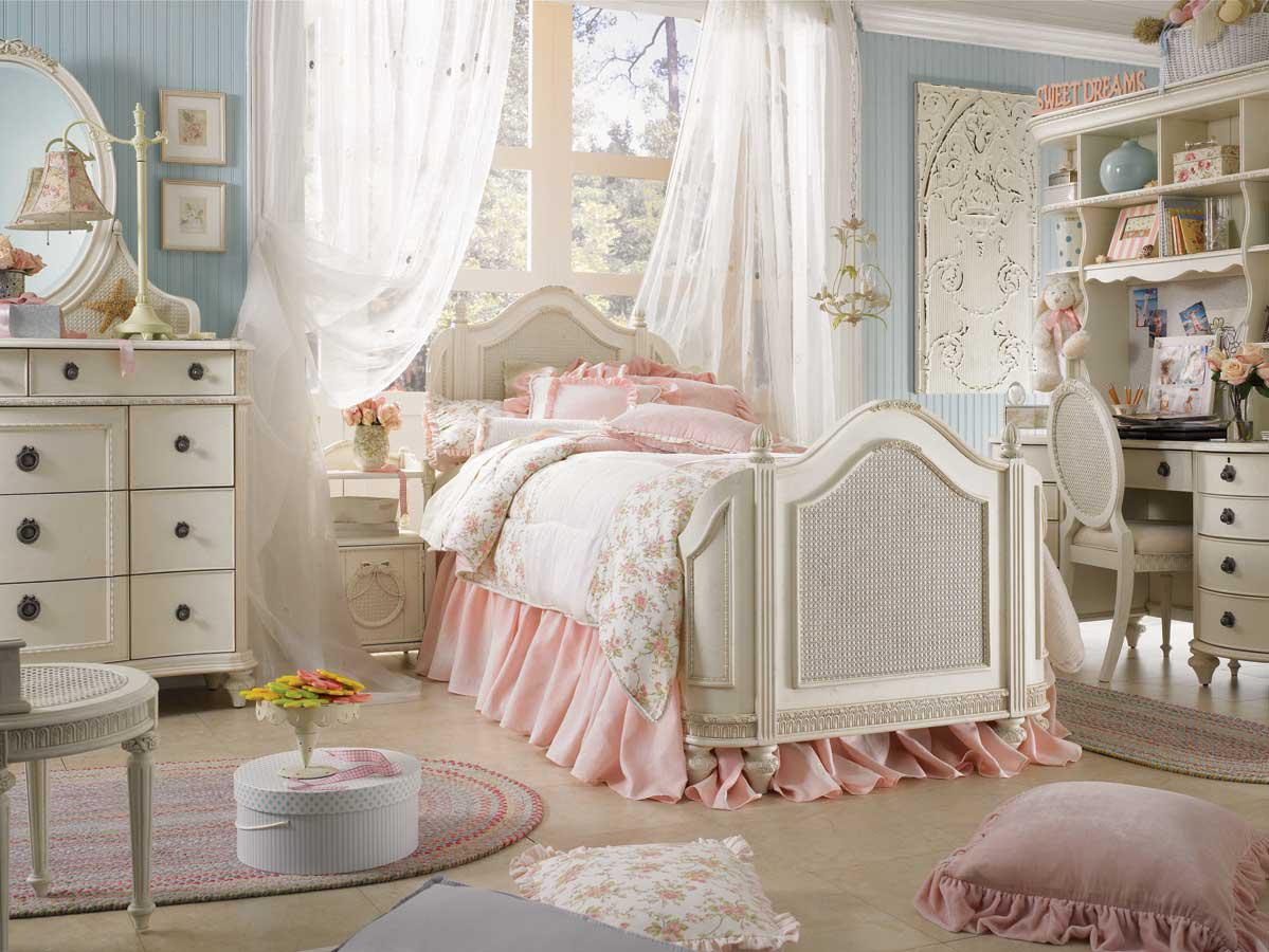 Image of: Shabby Chic Bedroom Photo