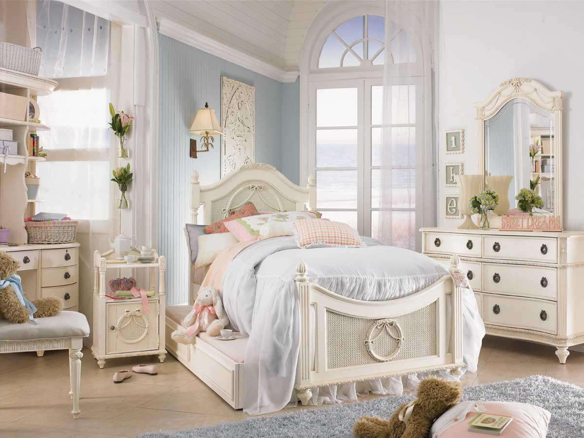 Image of: Shabby Chic Bedroom Pictures Design Ideas