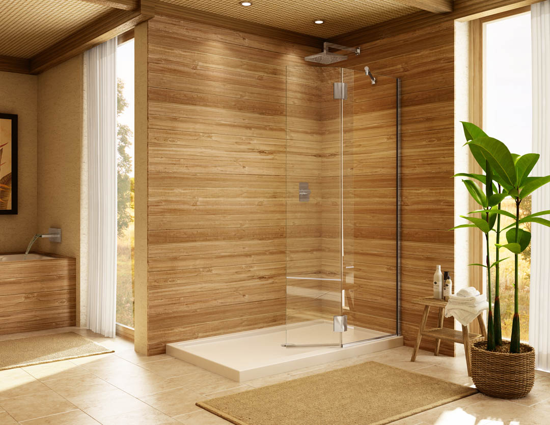 Image of: Shower Enclosures Lowes