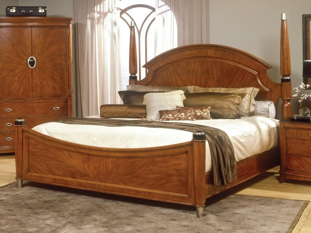 Image of: Solid Wood Contemporary Bedroom Furniture