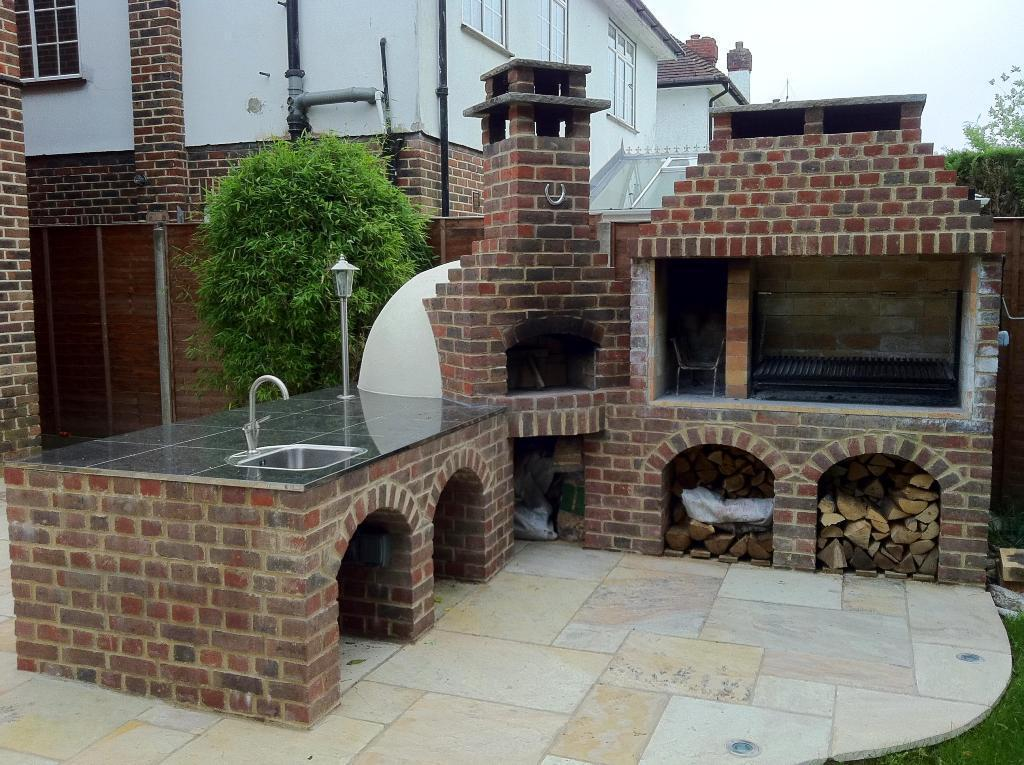 Image of: Stone Ovens Outdoor
