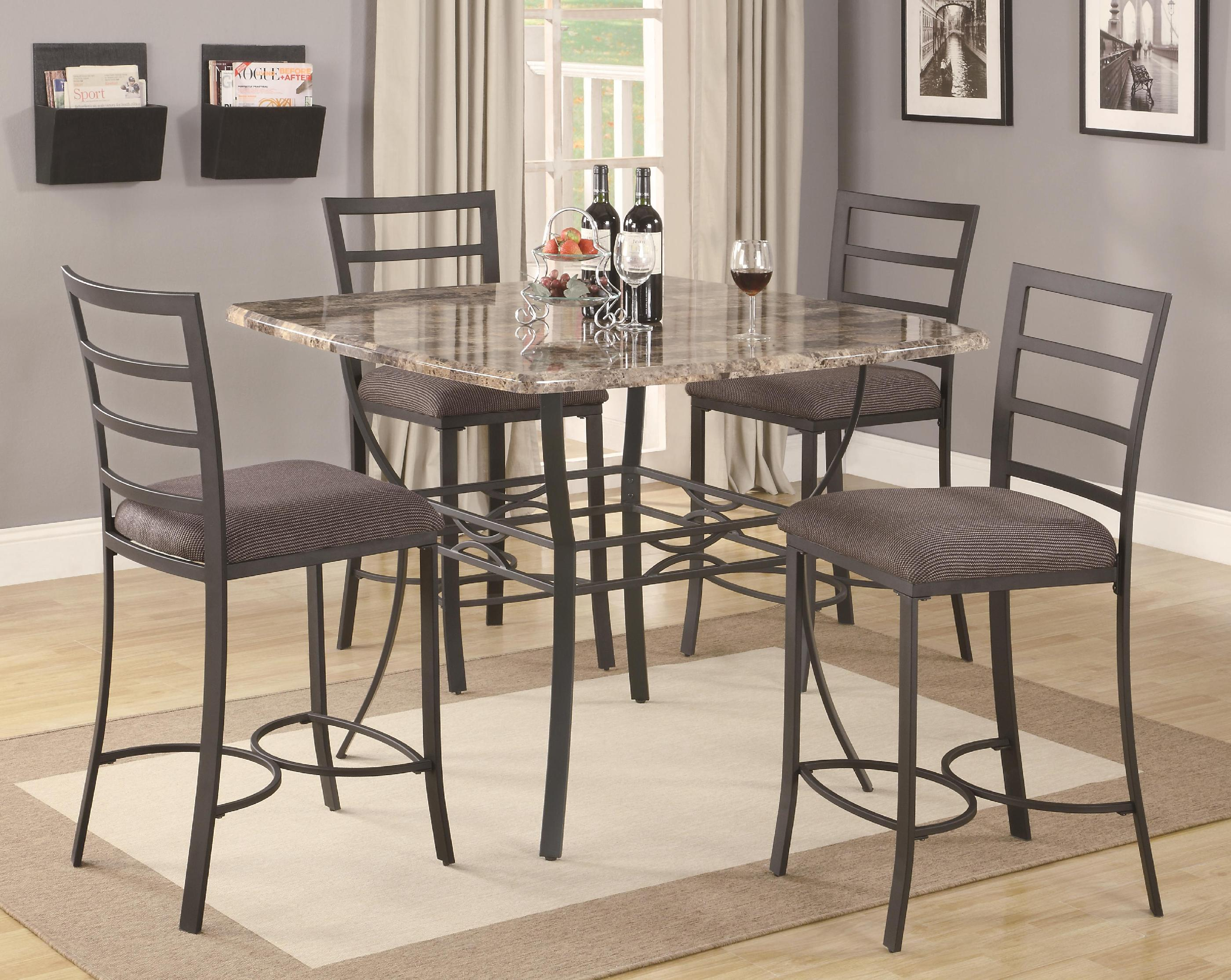Image of: Tall Bistro Table
