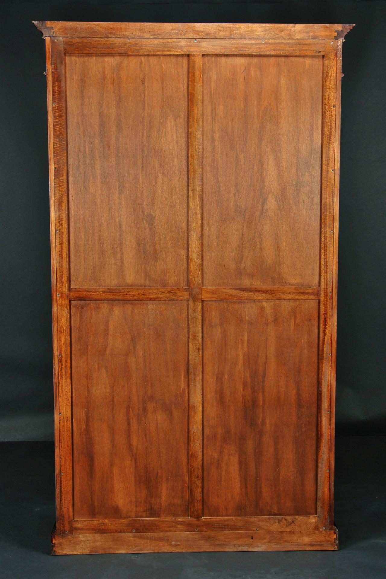 Image of: Tall Bookshelves With Doors