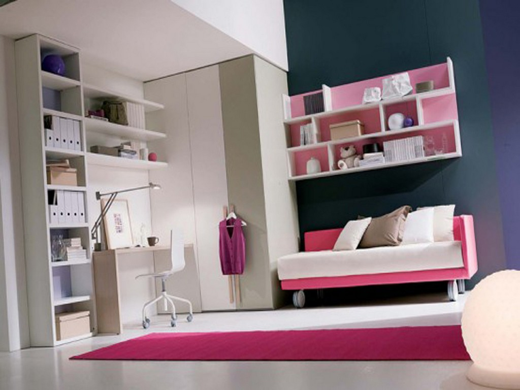 Image of: Teenage Girl Bedroom Ideas Wall Colors