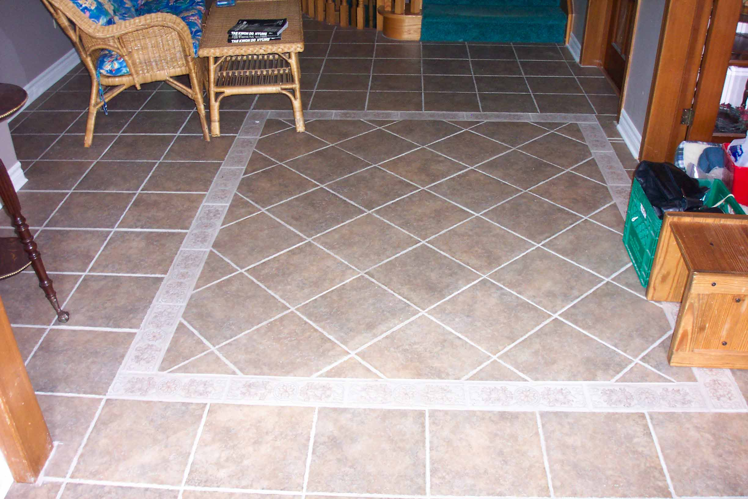 Image of: Tile Floor Patterns Ideas