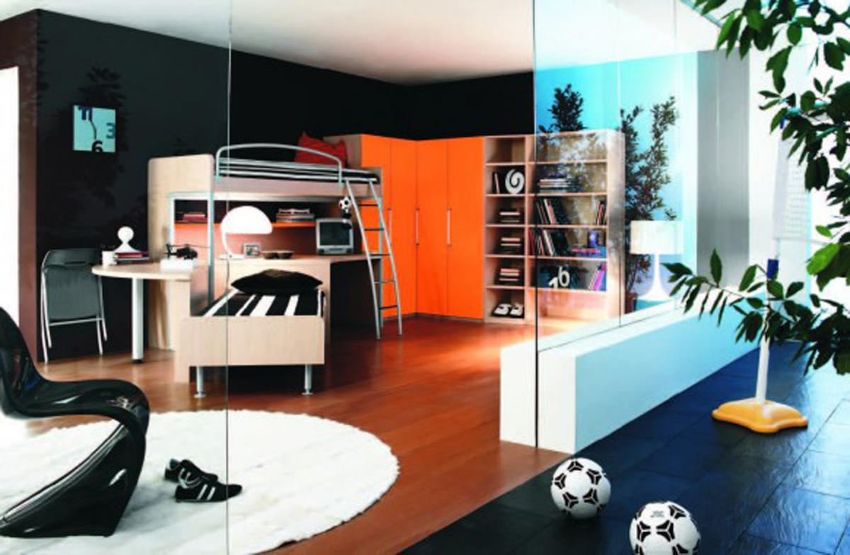 Image of: Contemporary Tween Boy Bedroom Ideas