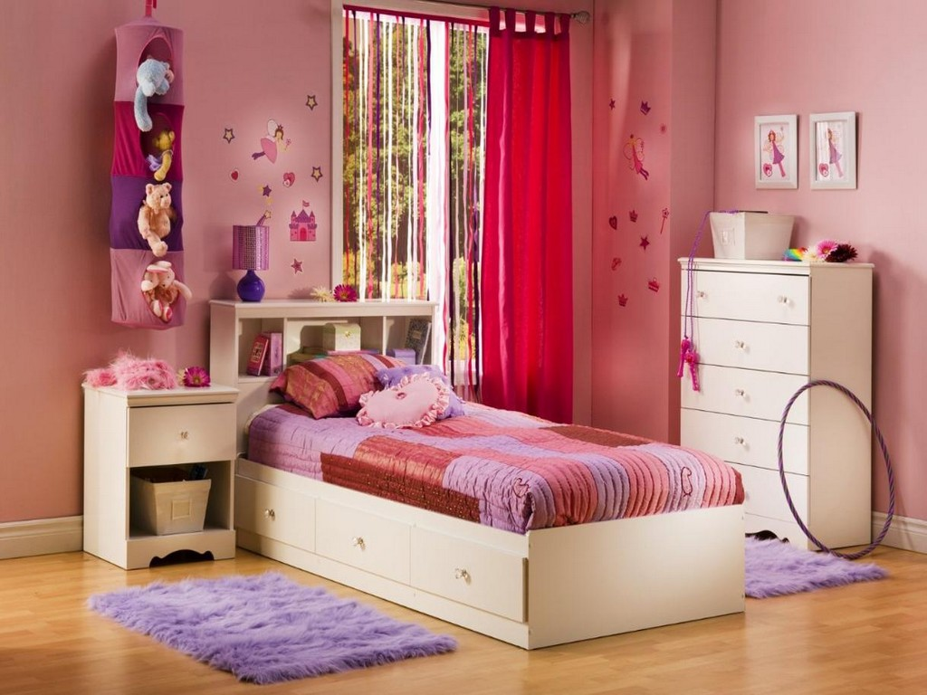 Image of: Twin Bedroom Furniture Sets For Kids