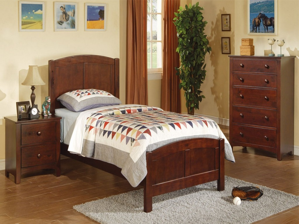 Image of: Twin Bedroom Sets With Desk