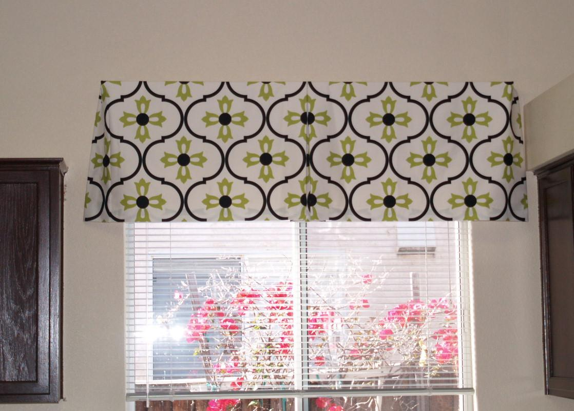 Image of: Valances Window Treatments