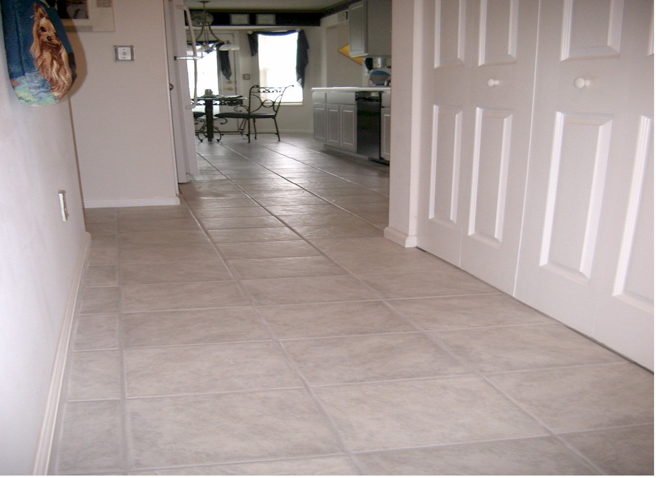 Image of: Vinyl Tile Floor Patterns