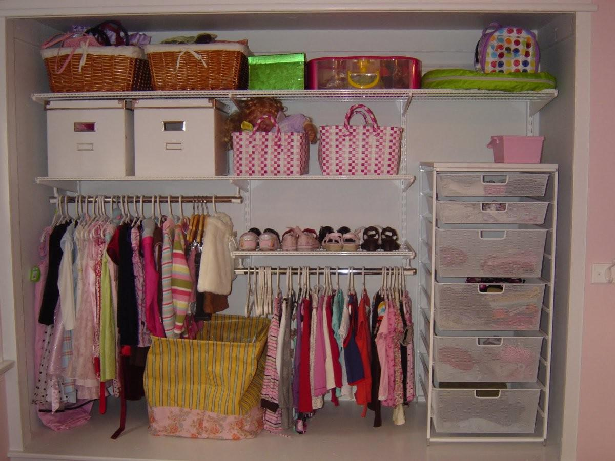 Image of: Walk In Closet Organizers
