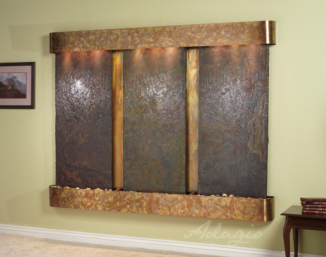 Image of: Wall Hanging Water Features