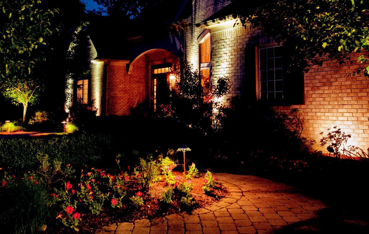 Image of: Wall Mount Solar Lights