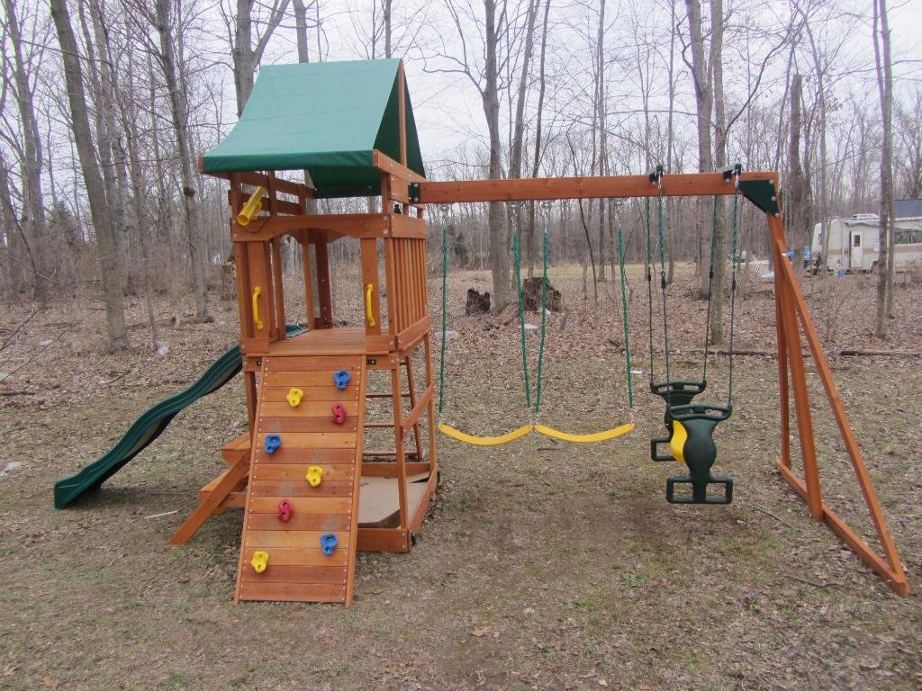 Image of: Walmart Playset Outdoors