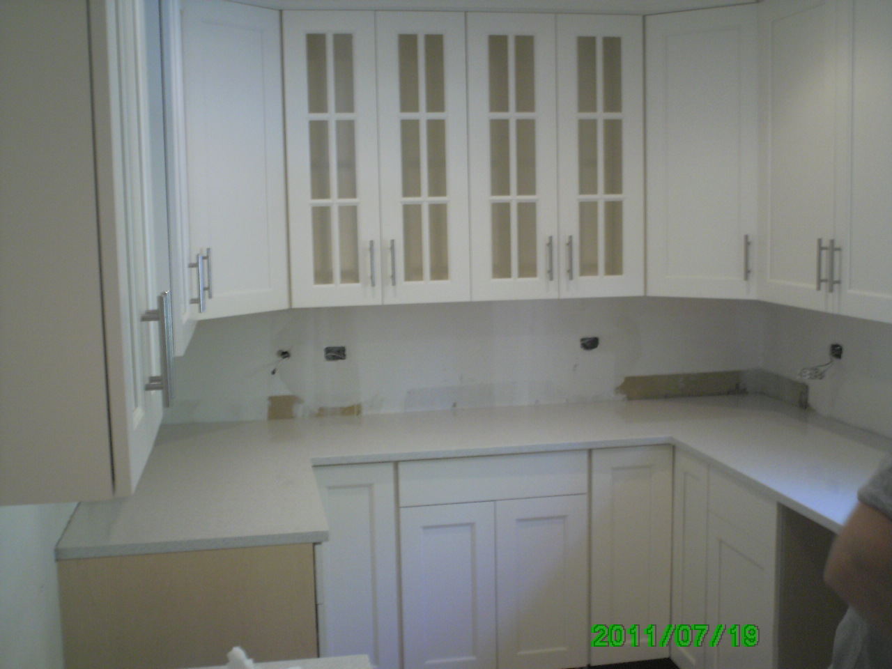 Image of: White Granite Countertops