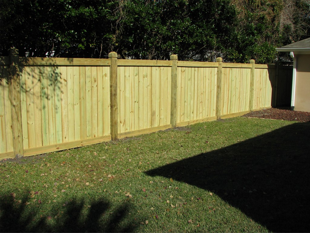 Image of: Wooden Fence Design Images