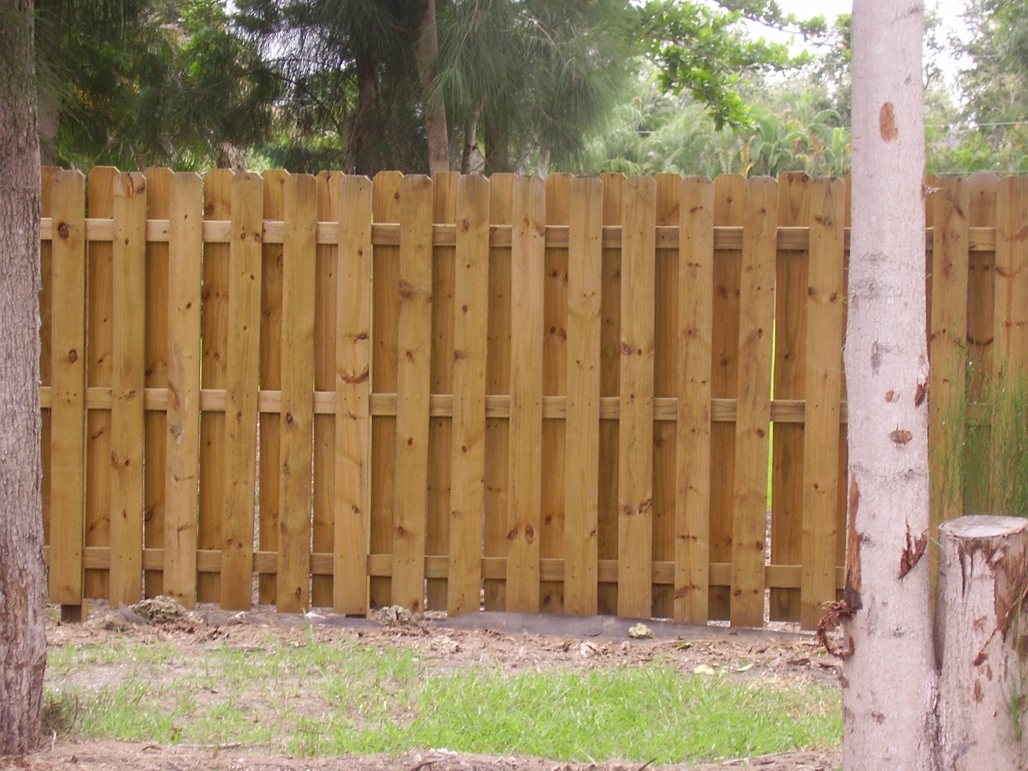 Image of: Wooden Fence Design
