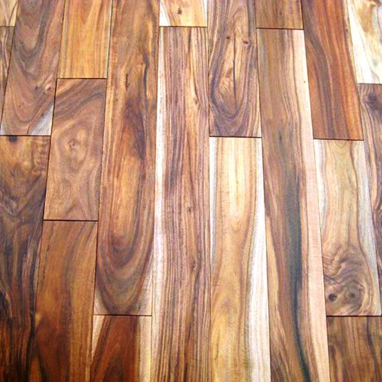 Image of: Acacia Solid Hardwood Flooring