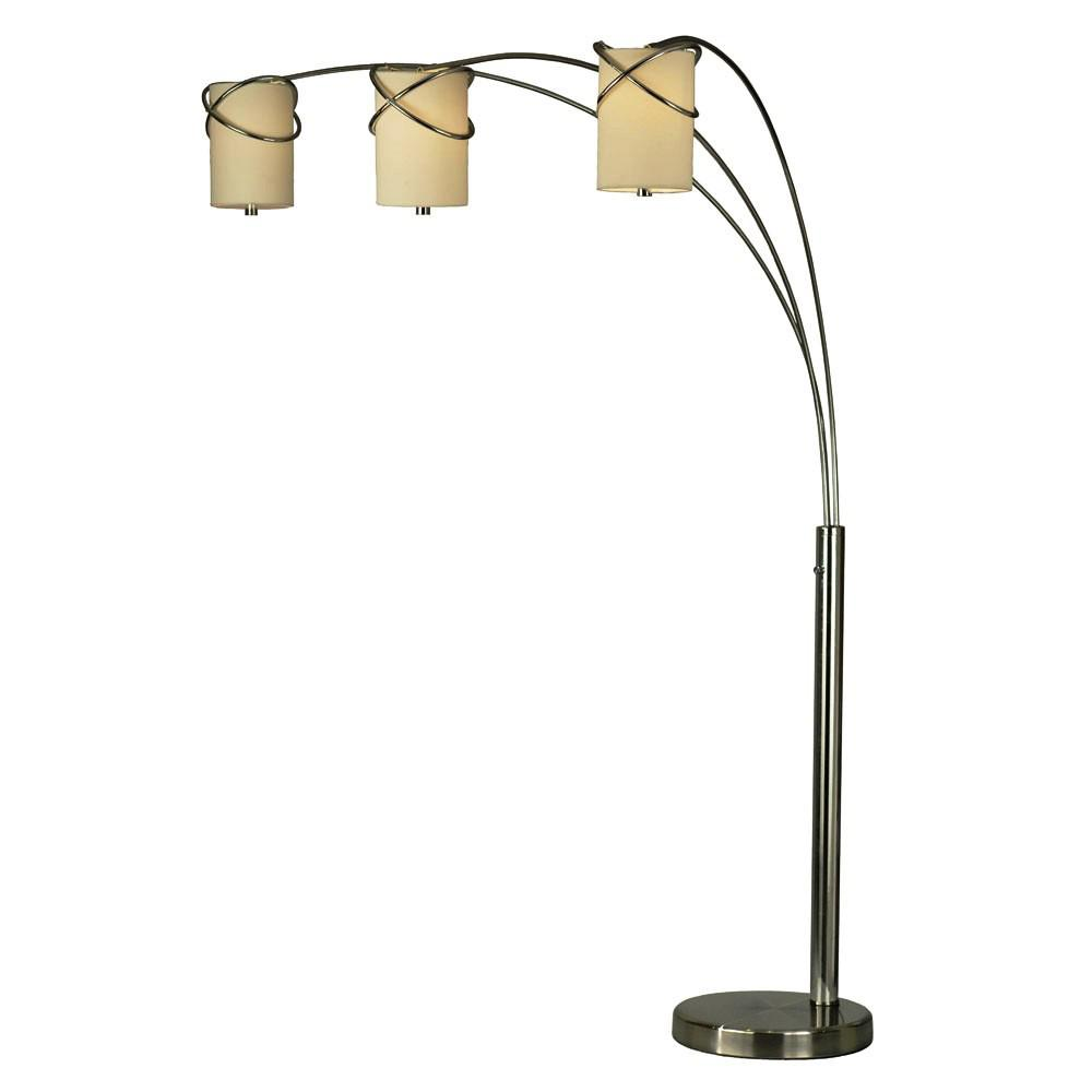 Image of: Adesso Trinity Arc Floor Lamp