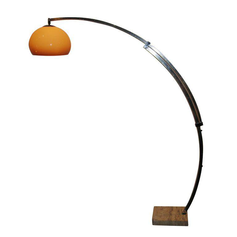 Image of: Arch Floor Lamps Contemporary