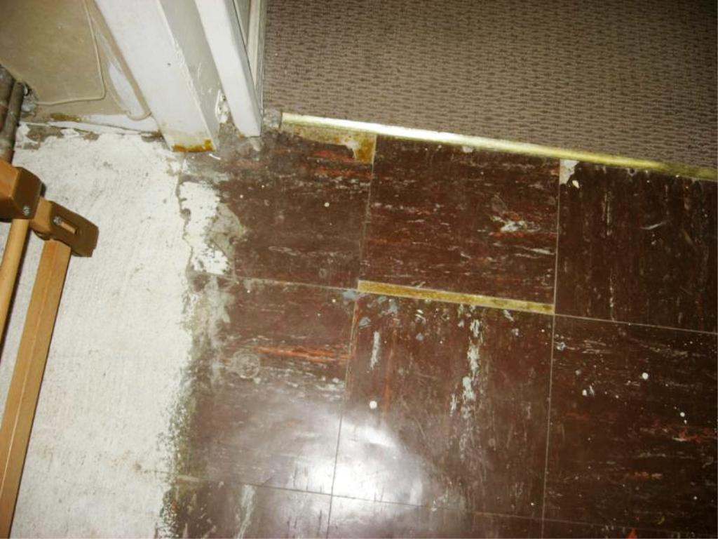 Image of: Asbestos Tiles In Basement