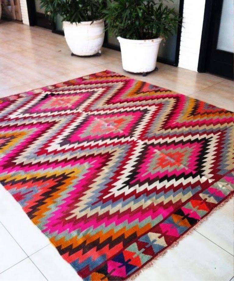 Image of: Aztec Rugs Denver