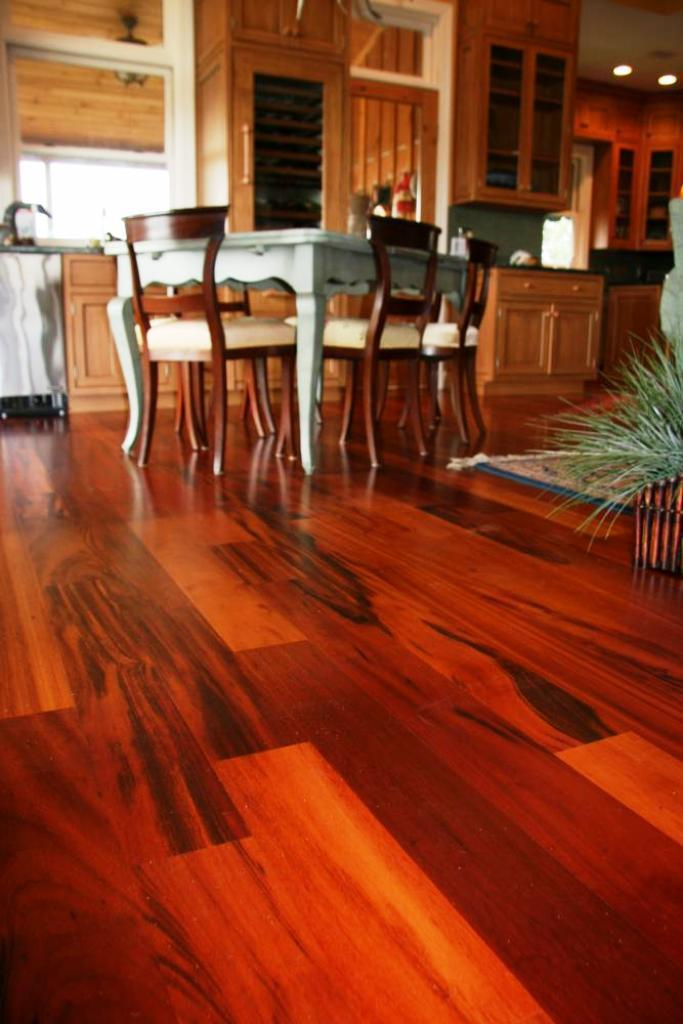 Image of: Brazilian Cherry Hardwood Flooring