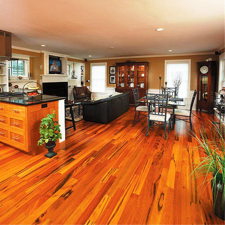 Image of: Brazilian Koa Flooring