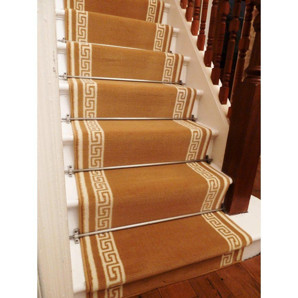 Image of: Carpet Runners For Stairs Lowes