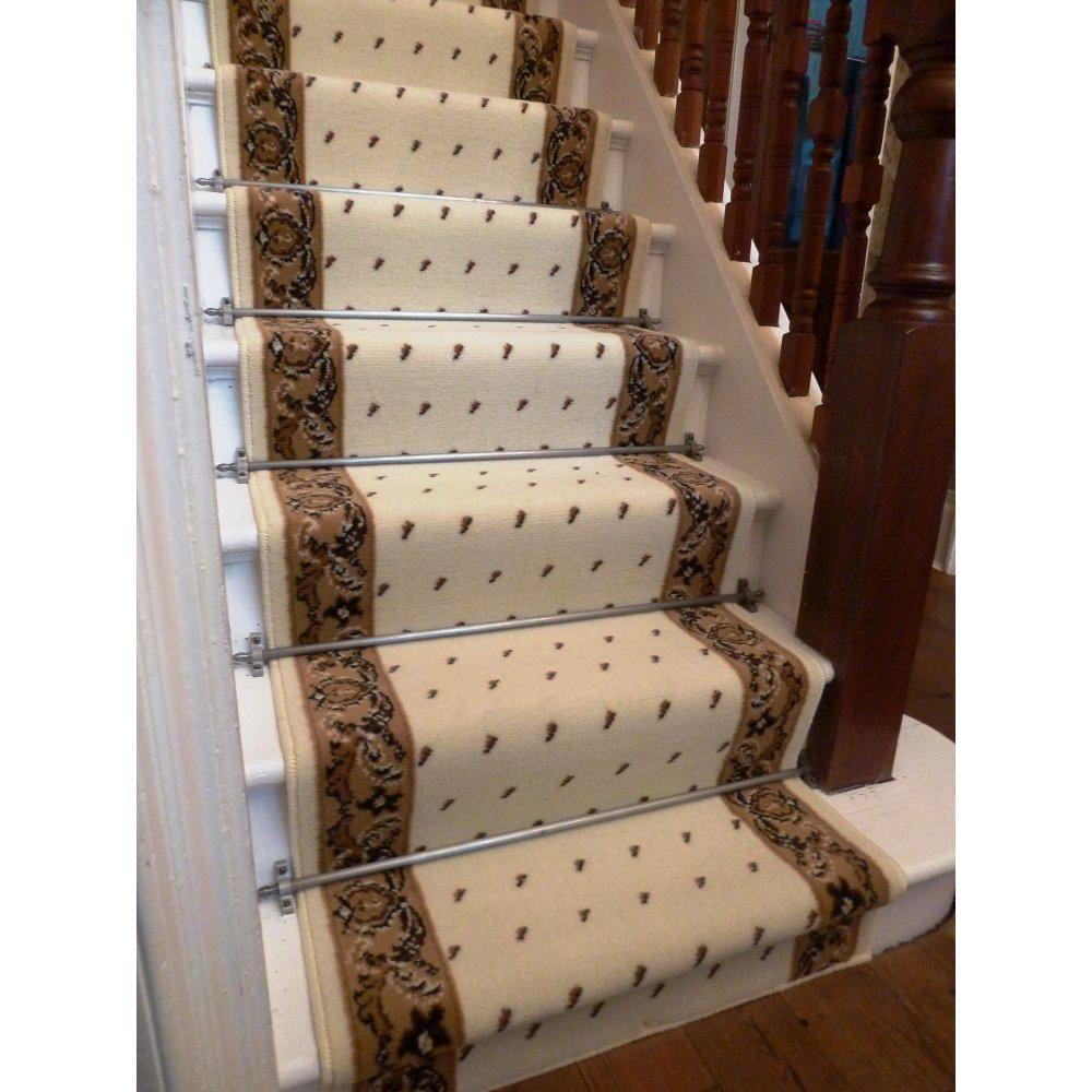 Image of: Carpet Stair Treads