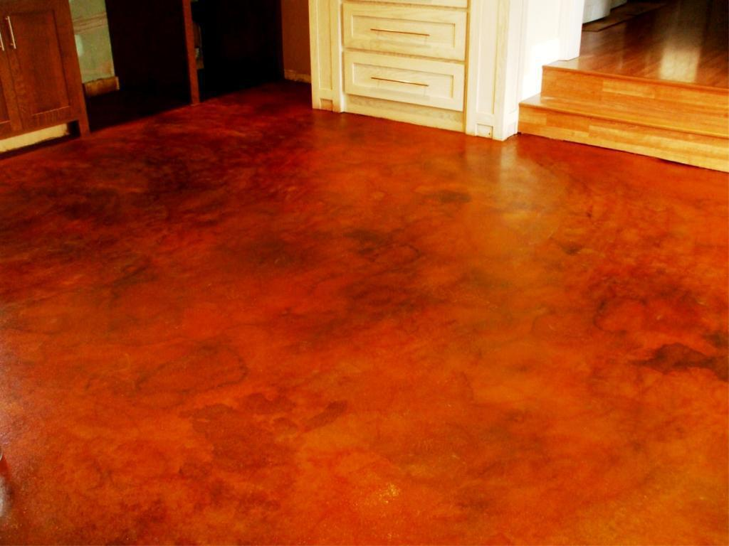 Image of: Concrete Floor Finishes