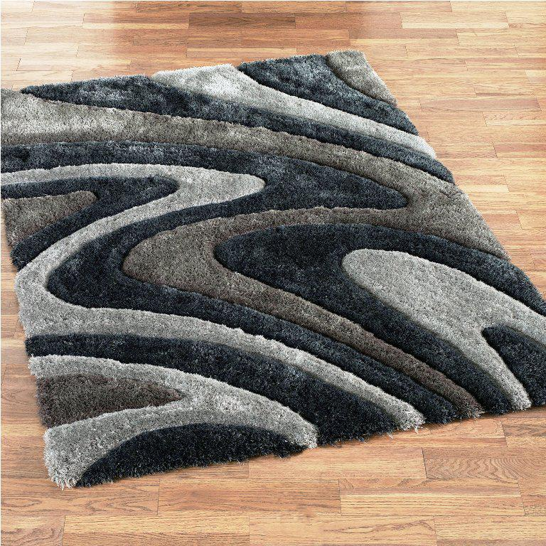 Image of: Contemporary Shag Area Rugs