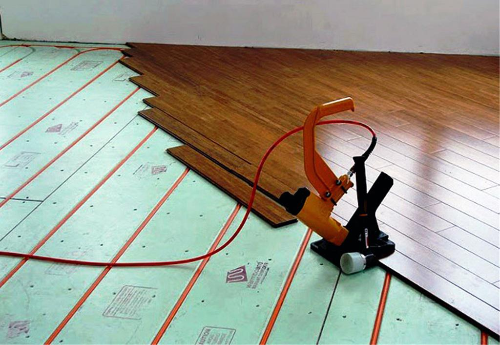 Image of: DIY Hydronic Radiant Floor Heating