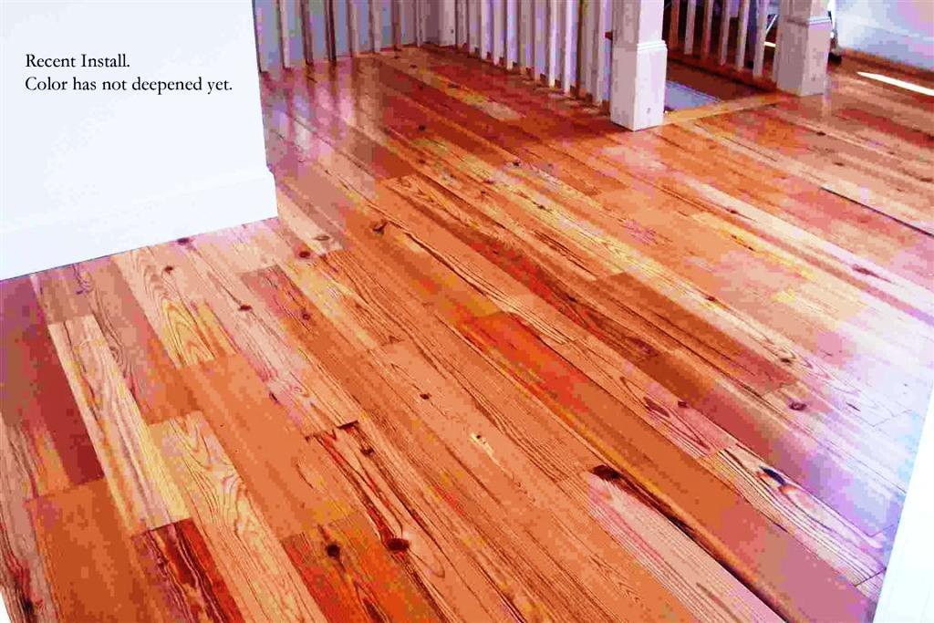 Image of: Engineered Heart Pine Flooring