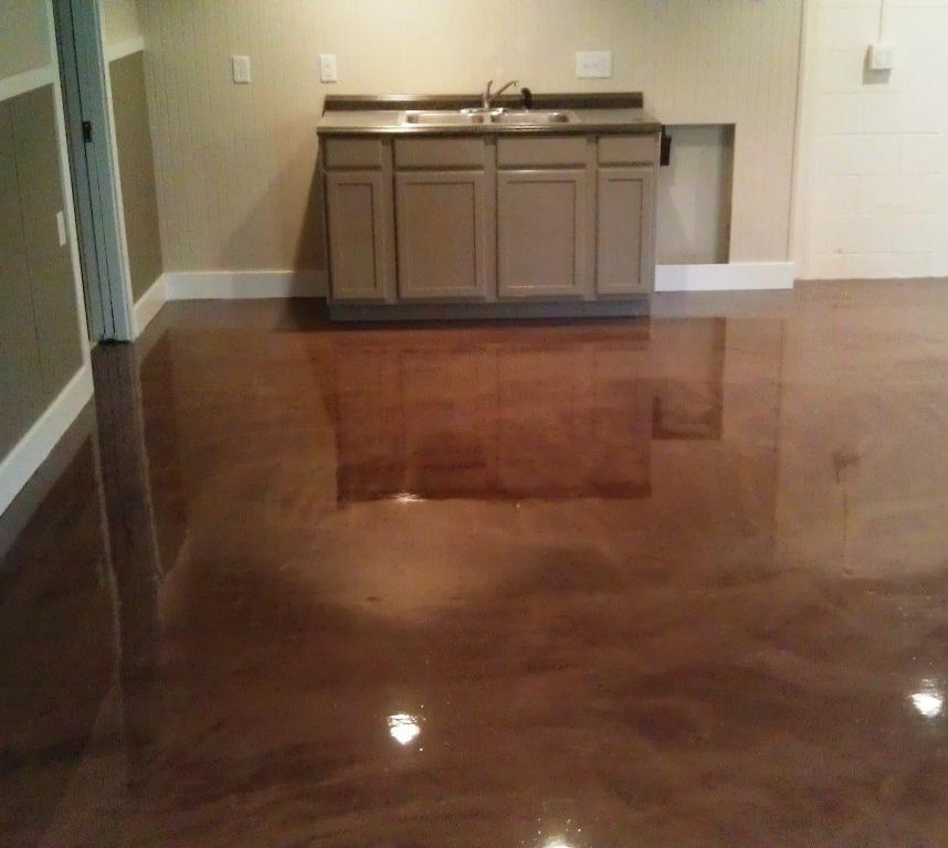 Image of: Epoxy Basement Floor Coating