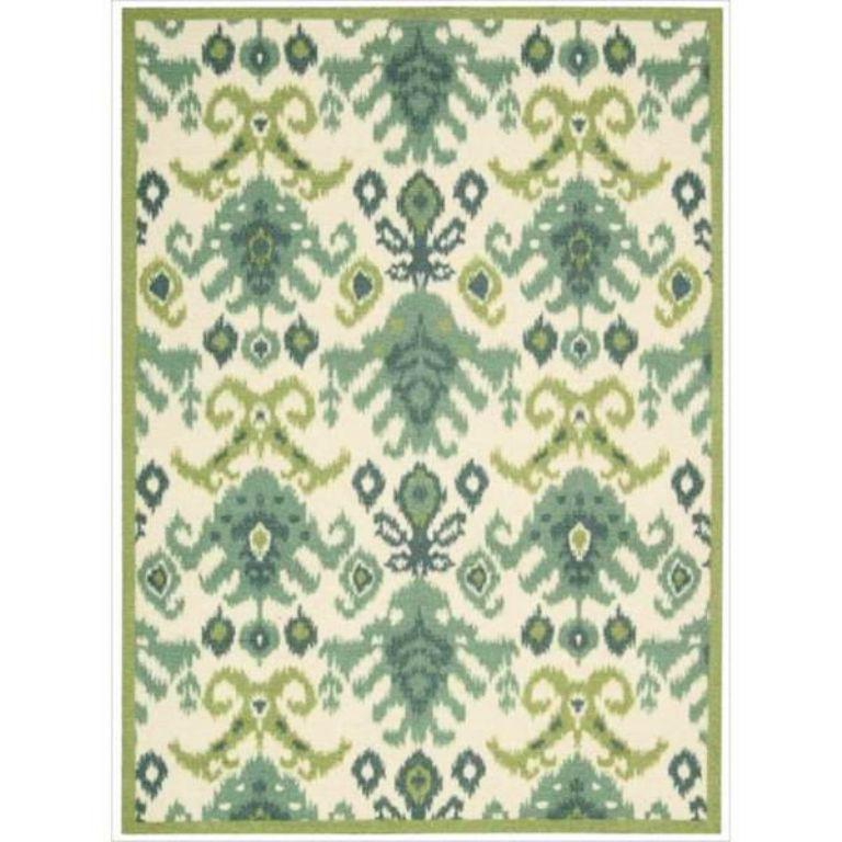 Image of: Faded Ikat Rug