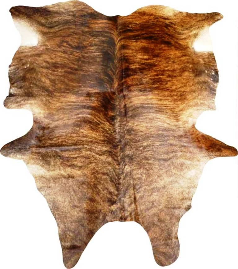 Image of: Fake Cowhide Rug