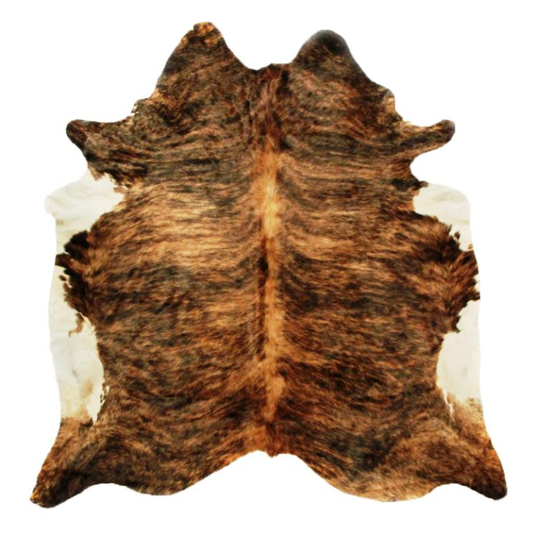 Image of: Faux Cowhide Rug