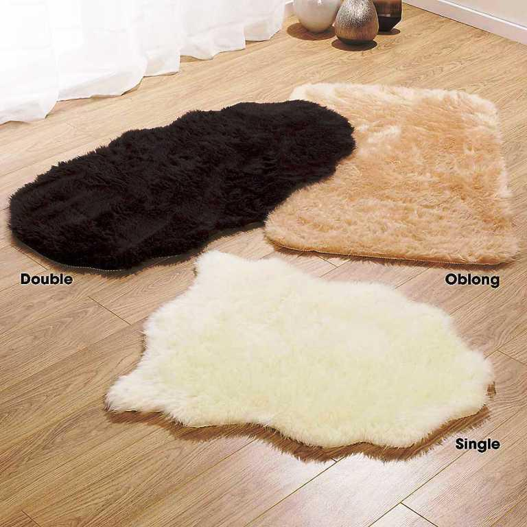 Image of: Faux Fur Rug IKEA