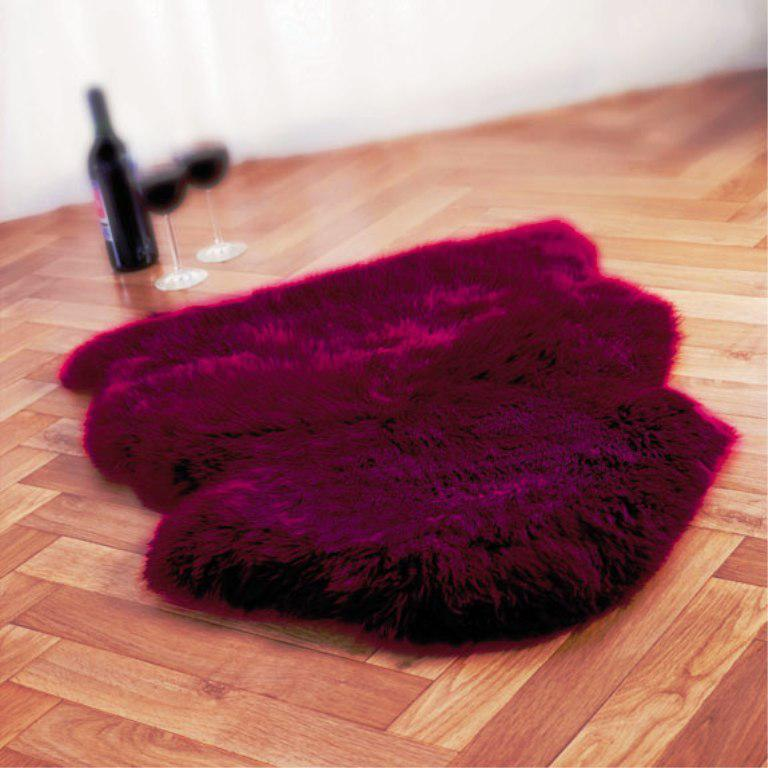 Image of: Faux Sheepskin Rugs Clearance