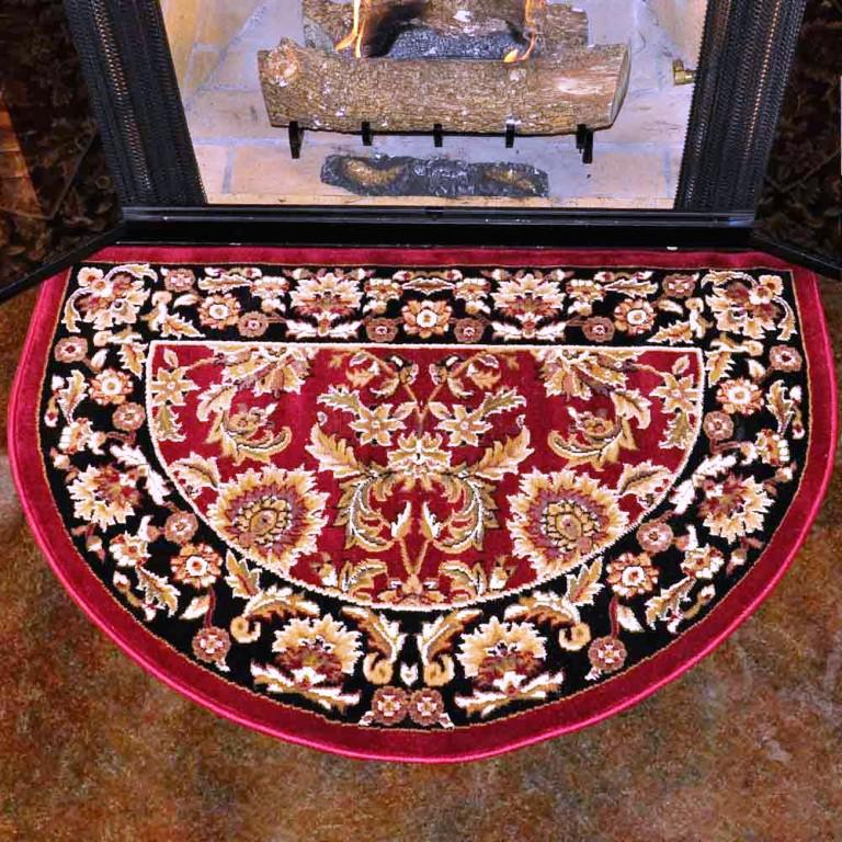 Image of: Fire Retardant Hearth Rugs