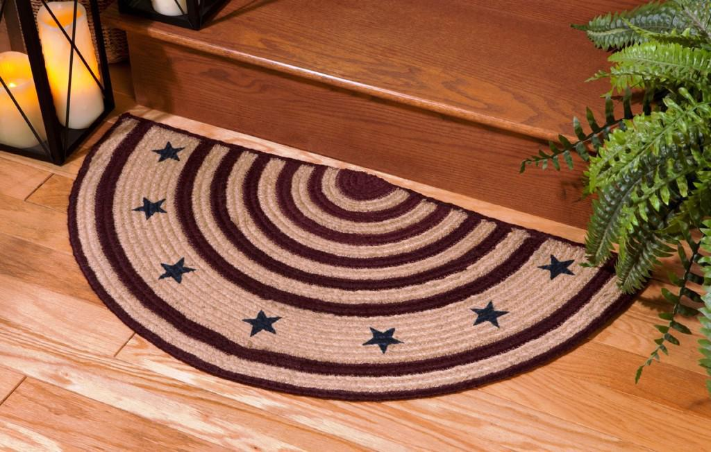 Image of: Fireplace Rugs Lowes