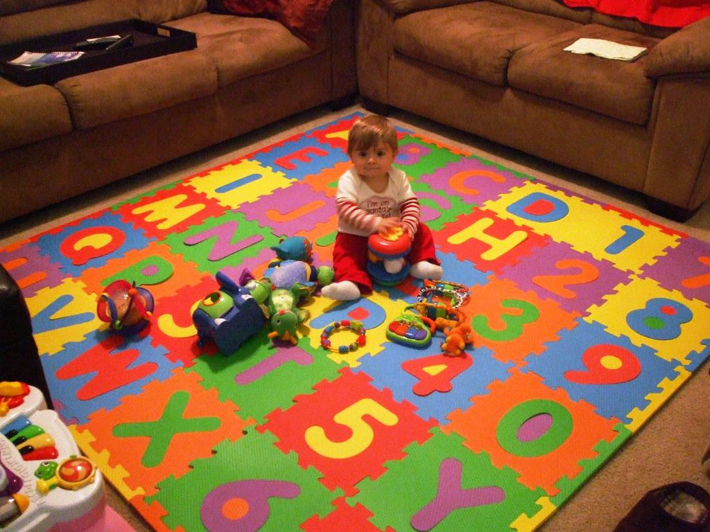 Image of: Foam Puzzle Flooring