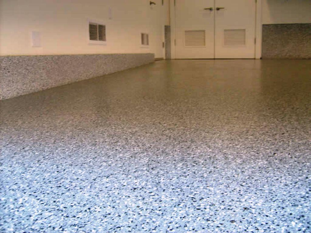 Image of: Garage Epoxy Flooring