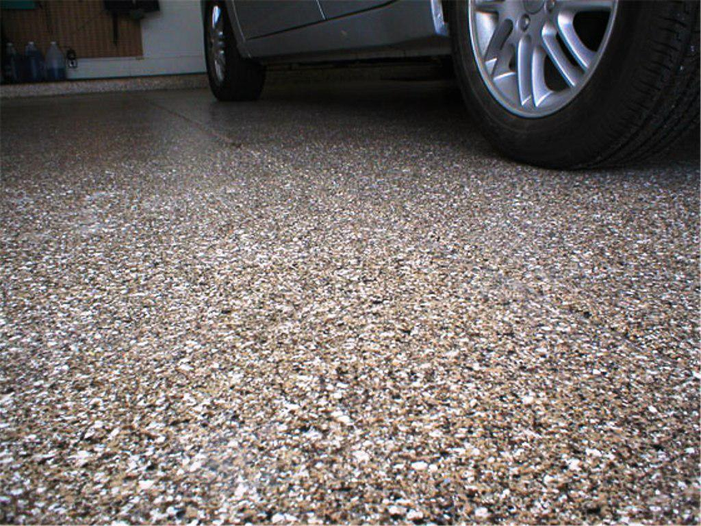 Image of: Garage Floor Epoxy